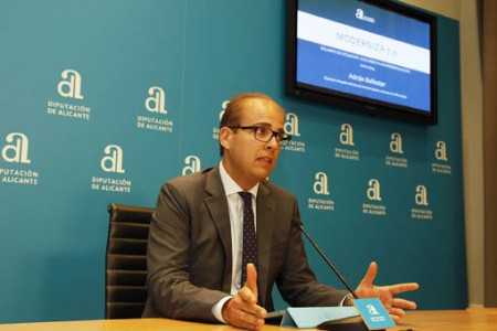 Un total de 130 municipis estalvien amb el Pla Modernitza 7.0 de la Diputació d'Alacant sis milions d'euros