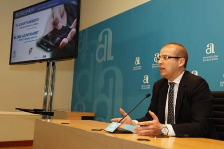 La Diputación de Alicante crea un App gratuita con información sobre los municipios de la provincia